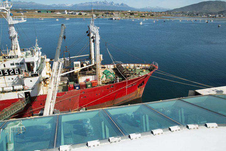La actividad pesquera cayó un 42% en Ushuaia