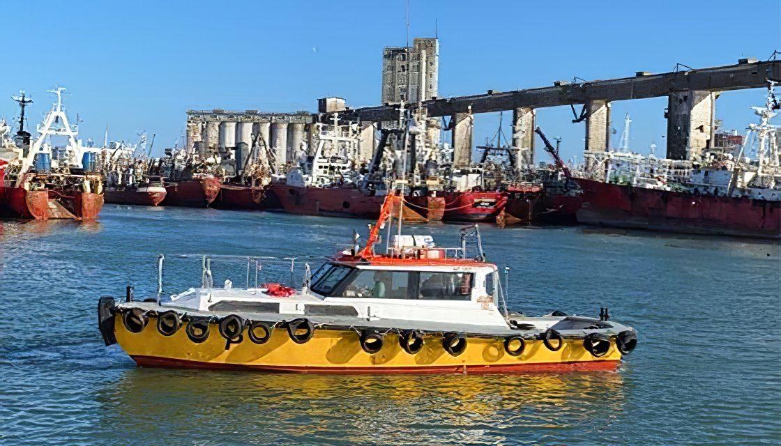 TC2 realiza una batimetría para aumentar certezas con vistas al dragado del puerto