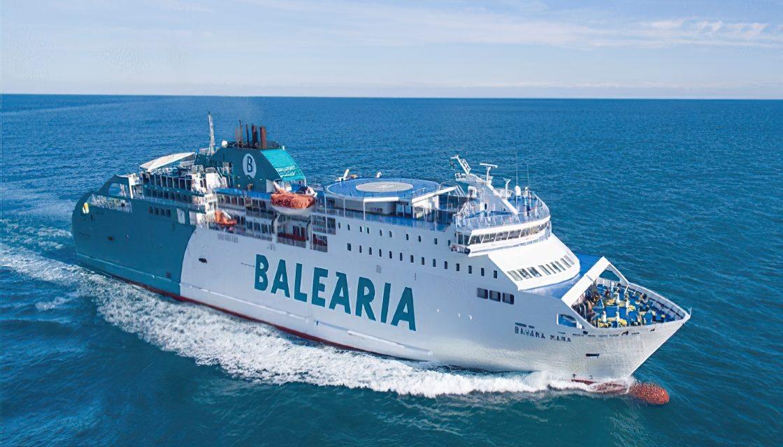 Balearia incorpora a su flota el sexto barco a gas natural
