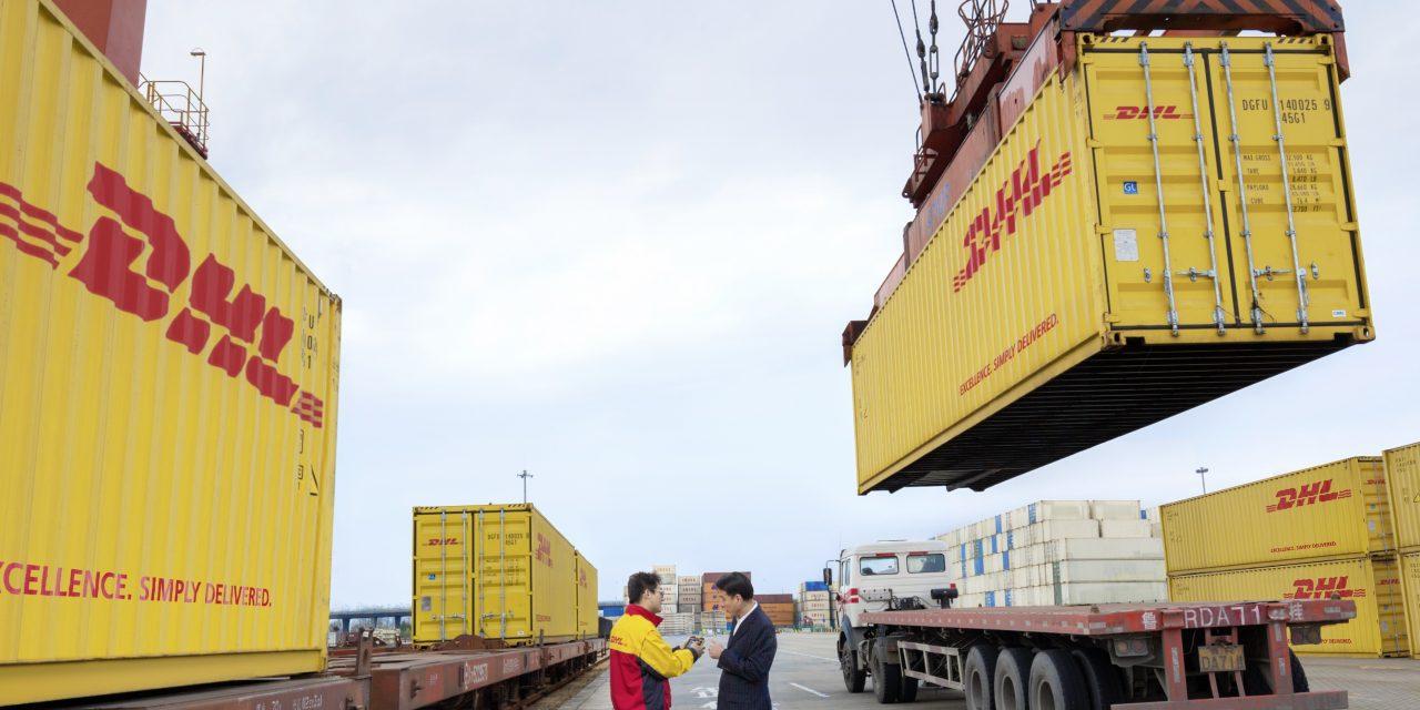 Nueva logística multimodal de DHL para envíos desde China