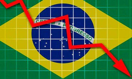 Economía de Brasil se contrajo 5,9% en primer semestre y está oficialmente en recesión