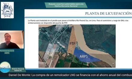 Daniel De Monte propone instituir un Bono Verde para promover el desarrollo de buques con energías limpias