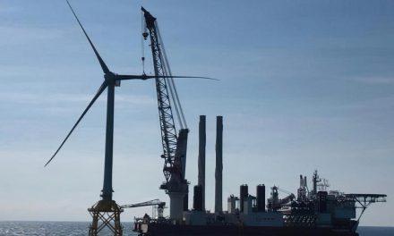 Jan De Nul inicia la instalación de turbinas para el parque eólico marino en Taiwán