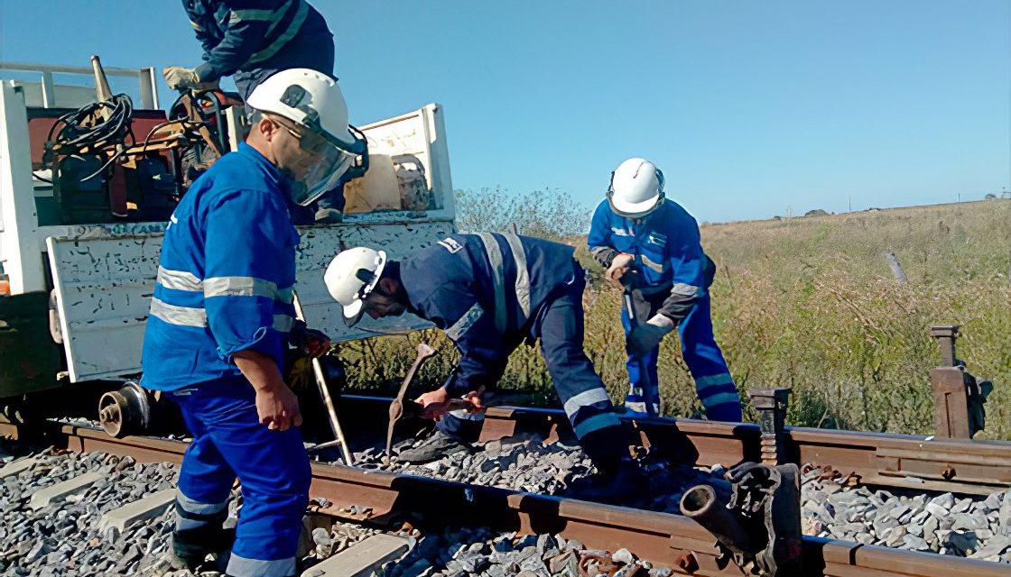 Trenes Argentinos Cargas comenzó obras de mejoramiento de vía en cinco provincias