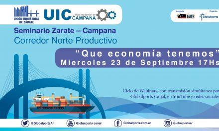 Seminario Zárate Campana 2020 – 2da Jornada, Vealo en vivo 17 horas