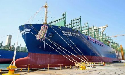 Entra en servicio el buque portacontenedores más grande del mundo