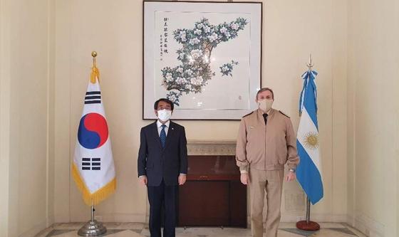 El Prefecto Nacional Naval se reunió con el Embajador Extraordinario y Plenipotenciario de Corea