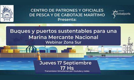 Buques y puertos sustentables para una Marina Mercante Nacional