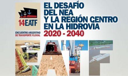 Encuentro Argentino de Transporte Fluvial, el 19 de octubre