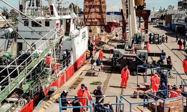Crece la actividad pesquera en Bahía Blanca
