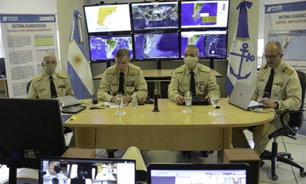 Prefectura Naval Argentina y la Autoridad Marítima de Ecuador hablan sobre la pesca ilegal