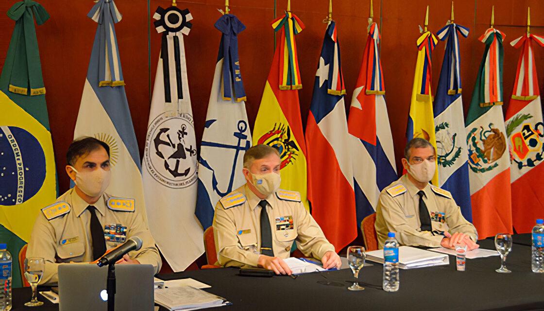 Clausura de la Primer Reunión Extraordinaria del Comité del Acuerdo Latinoamericano sobre el control de Buques