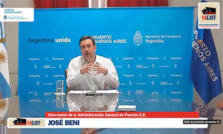 Puerto Buenos Aires participó del XIV Encuentro de Transporte Fluvial