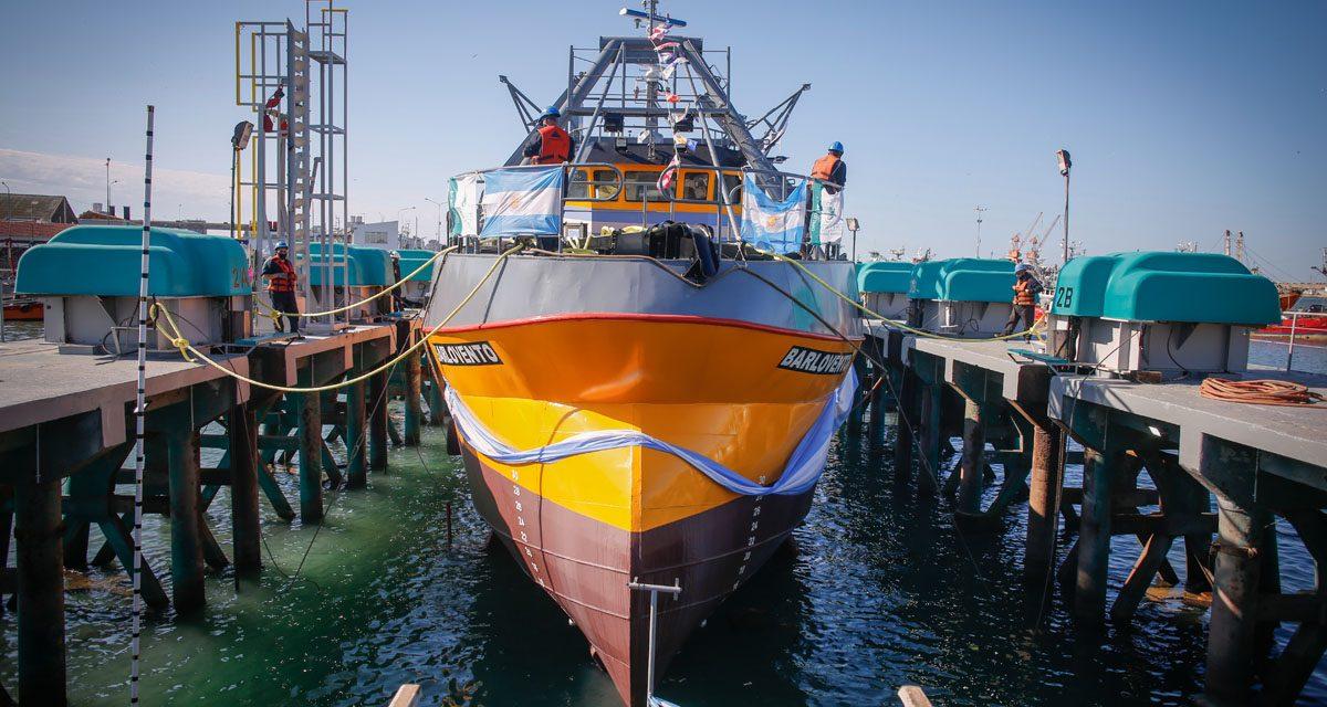 La empresa SPI Astilleros realizó la botadura de los buques Merluan y Barlovento