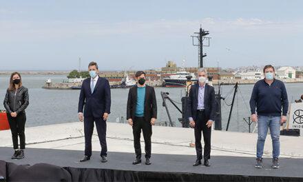 Meoni en Mar del Plata: Trabajamos para darle durabilidad al puerto