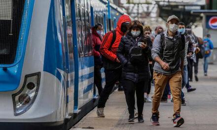 Martes 26 de mayo, un 23 % de los pasajeros usó el transporte público