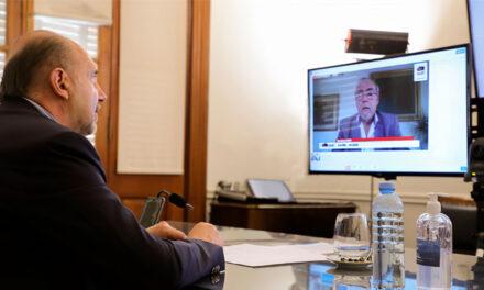 Perotti y Nación ratificaron la continuidad de la operación privada de la Hidrovía Paraná-Paraguay