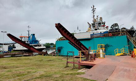 Campana: El Secretario de Desarrollo Económico del Municipio recorrió las instalaciones de SPI Astilleros