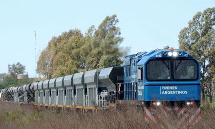 Durante el primer cuatrimestre de 2020, aumentó la carga transportada en tren