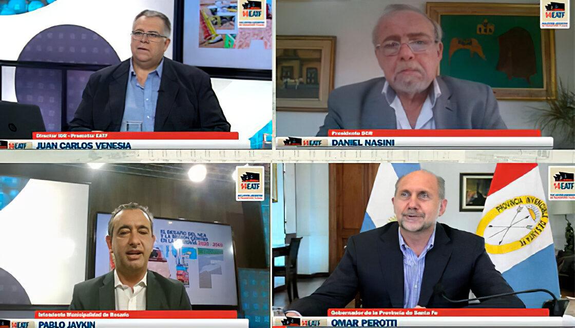 Exitoso XIV Encuentro Argentino de Transporte Fluvial
