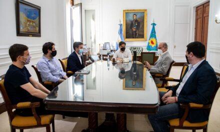 Kicillof puso en funciones al nuevo titular del Consorcio de Gestión del Puerto Quequén