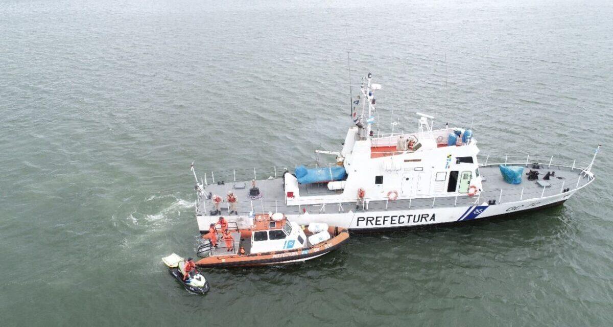 Prefectura y la búsqueda y rescate (SAR)