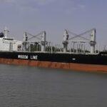 Buque ingresó al puerto de Concepción del Uruguay para cargar madera