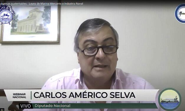 Carlos Selva involucrado con la nueva reglamentación de la Marina Mercante