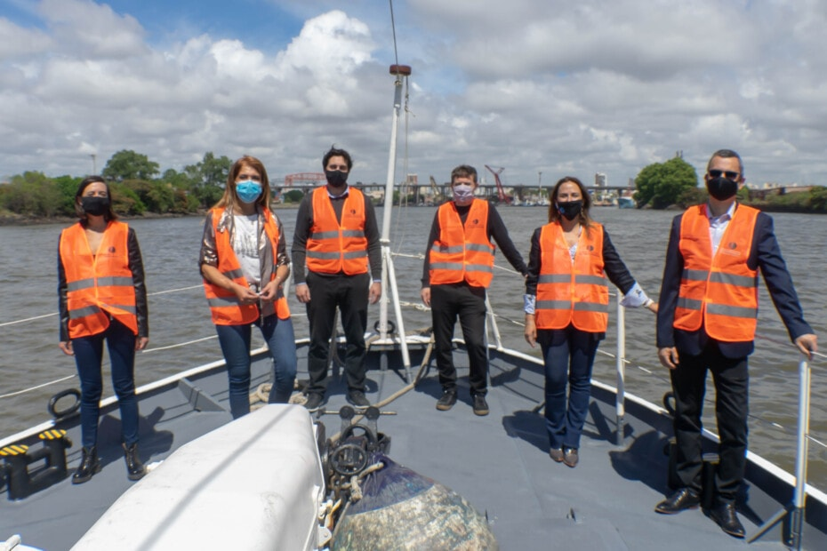 Una visita estratégica al Puerto Dock   Sud