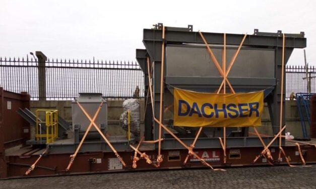 Dachser Brasil transporta toda una planta de fabricación de asfalto desde Brasil a las Islas Vírgenes