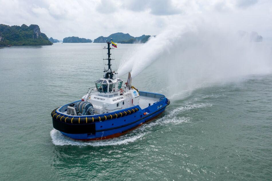 Damen Shipyards Group está entregando un ASD Tug 2813 a Cititug en Ecuador