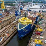 Damen convierte PSV en transportador de alimento para peces para Eidsvaag