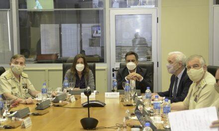 Prefectura participó de una reunión para el control y prevención de incendios en el Delta del Paraná