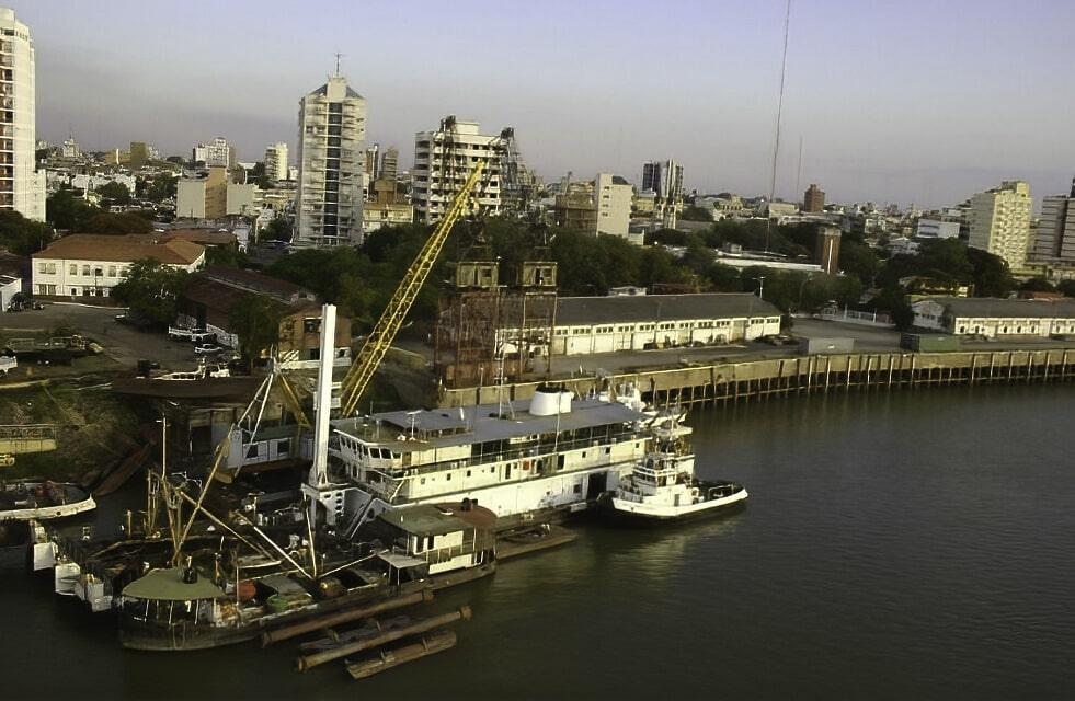 Puerto de Corrientes: El objetivo es que este sea el último puerto nacional con salida al mundo, sin tener que pasar por Rosario