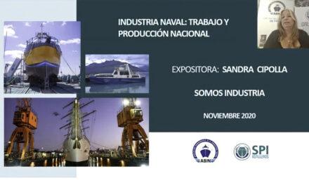 La industria naval tiene mucho que aportar para la post pandemia