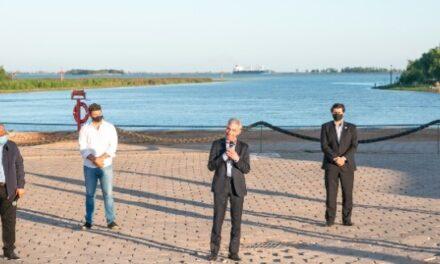 """Meoni anunció obras necesarias para recuperar el Puerto de San Pedro: """"estas obras son la verdadera manera de hacer soberanía"""""""