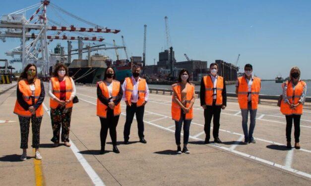 Diputados del Frente de Todos visitaron el Puerto Buenos Aires