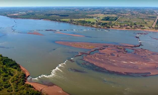 """Bajante del río Uruguay: """"Hay bancos de arena de hasta 600 metros de extensión"""""""