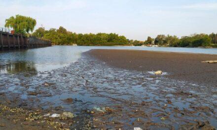 El río Gualeguay, en Puerto Ruíz, marcó por debajo de los 10 centímetros de agua