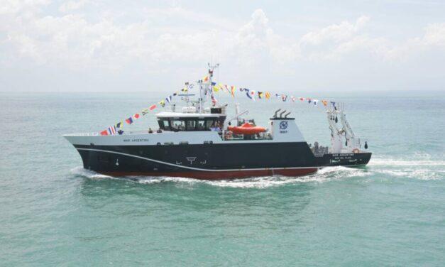 Arribó al puerto de Mar del Plata nuevo buque oceanográfico de investigación pesquera