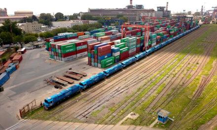 Se duplicó la cantidad de vagones operados en puerto Buenos Aires
