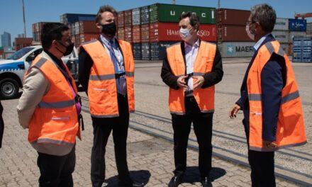 El Puerto de Buenos Aires recibió la visita de Julián Obaid, presidente de la Junta de Seguridad del Transporte