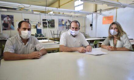 El Puerto de Bahia Blanca fortalece su vínculo institucional con el centro de formación profesional N°401