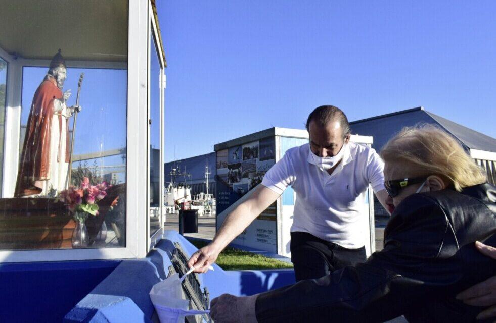 Puerto Bahía Blanca:  descubre placa en honor a José Egidio Conte