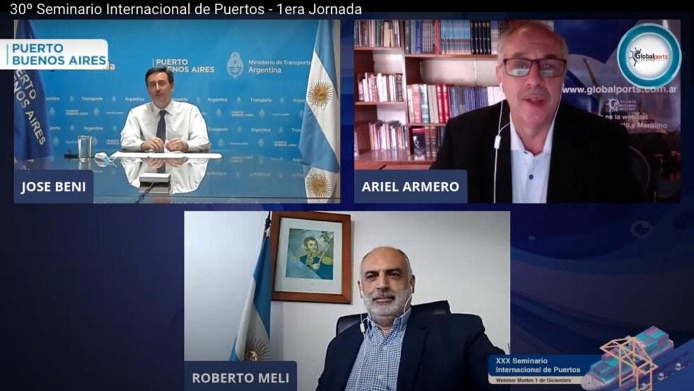 Puerto Buenos Aires, cruce marítimo austral e hidrovía en la agenda prioritaria