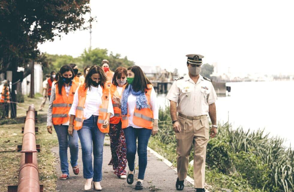 Puerto Dock Sud: campaña de comunicación inclusiva y trabajo por la igualdad de oportunidades