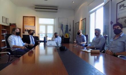 Importante visita de autoridades portuarias al Puerto La Plata