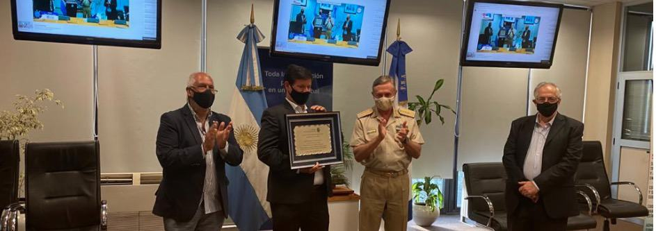 Se entregó el Premio Carlos Armero Sixto 2020 , en reconocimiento a la innovación y calidad