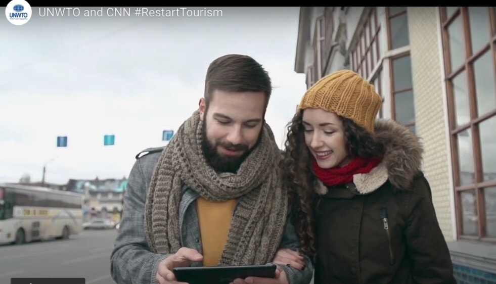 La OMT y la CNN se asocian para la campaña mundial #reiniciarelturismo