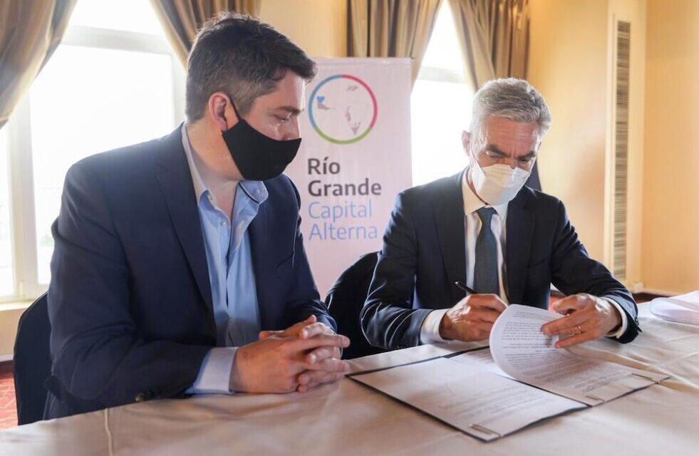 Convenio con Nación: Río Grande contará con un nodo logístico en el parque industrial